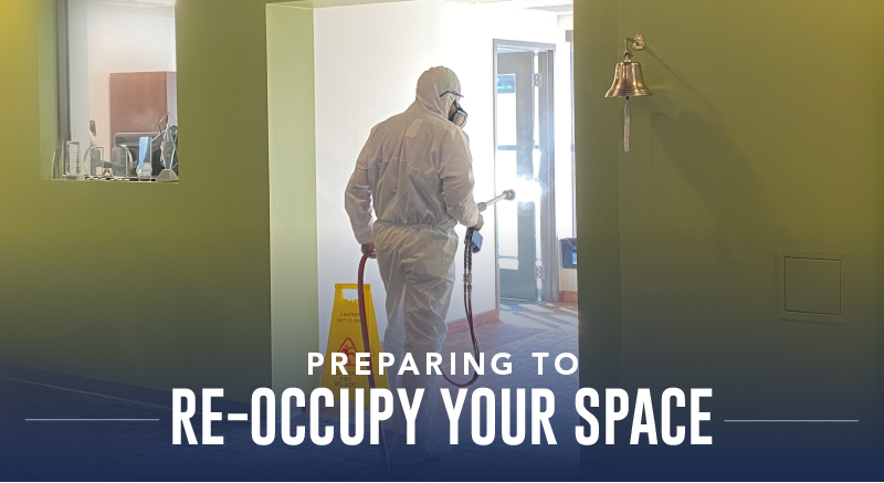 Helping Provide Peace of Mind in Advance of Office Re-Occupation