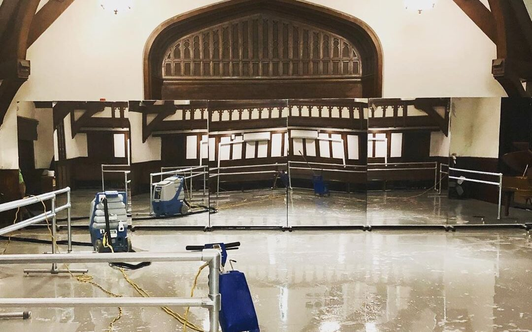 Northeast School of Ballet has CLEAN Studios!